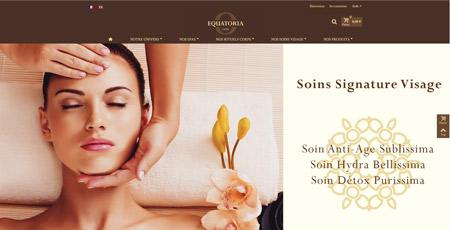 Equatoria - Spas et cosmétique - Logistique