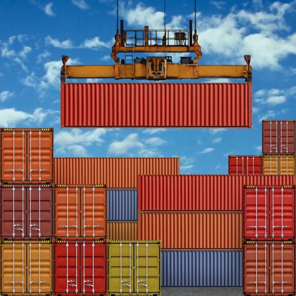 conteneur logistique